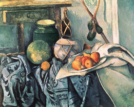 Bild-Nr: 31002186 Still Life with Pitcher and Aubergines Erstellt von: Cezanne, Paul