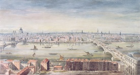 Bild-Nr: 31002287 A View of London from St. Paul's to the Custom House, 1837 Erstellt von: Yates, Gideon