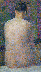 Bild-Nr: 31002507 Model from the Back, 1886 Erstellt von: Seurat, Georges Pierre