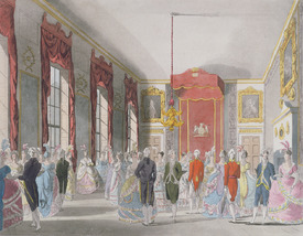 Bild-Nr: 31002629 Drawing Room, St. James's, engraved by John Bluck published by Ackermann's 'Repo Erstellt von: Rowlandson, Thomas