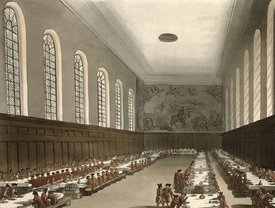Bild-Nr: 31002632 Military Hospital, Chelsea, from Ackermann's 'Microcosm of London' Erstellt von: Rowlandson, Thomas