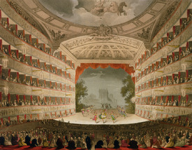 Bild-Nr: 31002640 Kings Theatre Opera House, engraved by J. Bluck, pub. by Ackermann's 'Repository Erstellt von: Rowlandson, Thomas