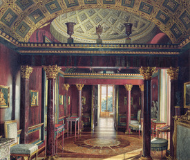 Bild-Nr: 31002719 The Agate Room in the Catherine Palace at Tsarskoye Selo, 1859 Erstellt von: Premazzi