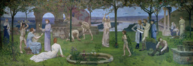 Bild-Nr: 31002741 Between Art and Nature, 1890 Erstellt von: Puvis de Chavannes, Pierre