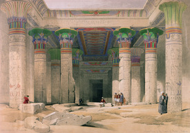 Bild-Nr: 31002794 Grand Portico of the Temple of Philae, Nubia, from 'Egypt and Nubia', engraved b Erstellt von: Roberts, David