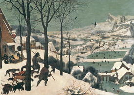 Bild-Nr: 31002837 Hunters in the Snow - January, 1565 Erstellt von: Bruegel, Pieter the Elder