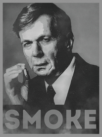 Smoke! Funny Obama Hope Parody Smoking Man /11608463