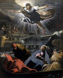 Bild-Foto 30009485 Tintoretto / Dream of St.Mark / Paint. erstellt von Tintoretto, Jacopo