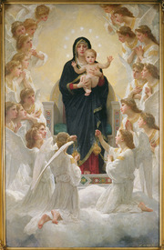 Bild-Foto 31000123 The Virgin with Angels, 1900 erstellt von Bouguereau, William Adolphe