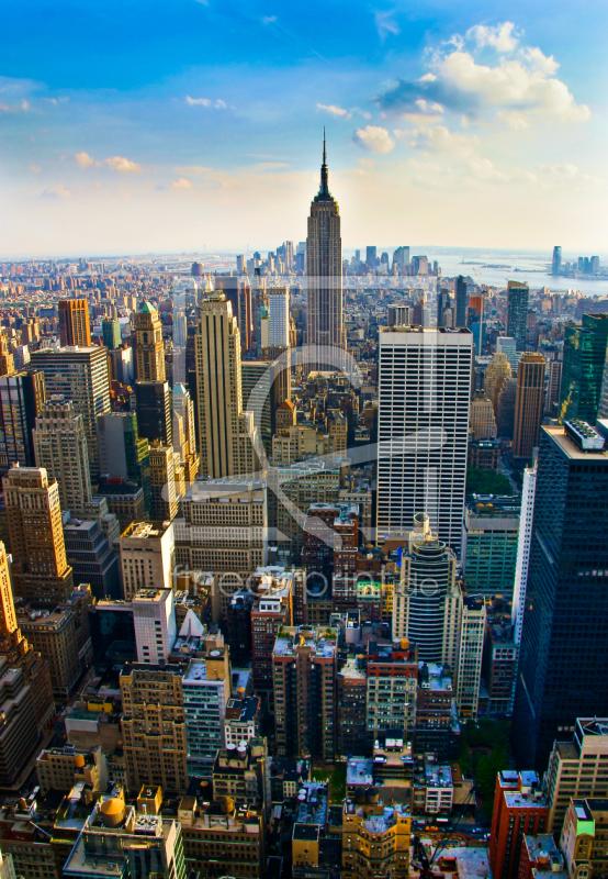 new york skyline als poster von mao in photo erh ltlich. Black Bedroom Furniture Sets. Home Design Ideas