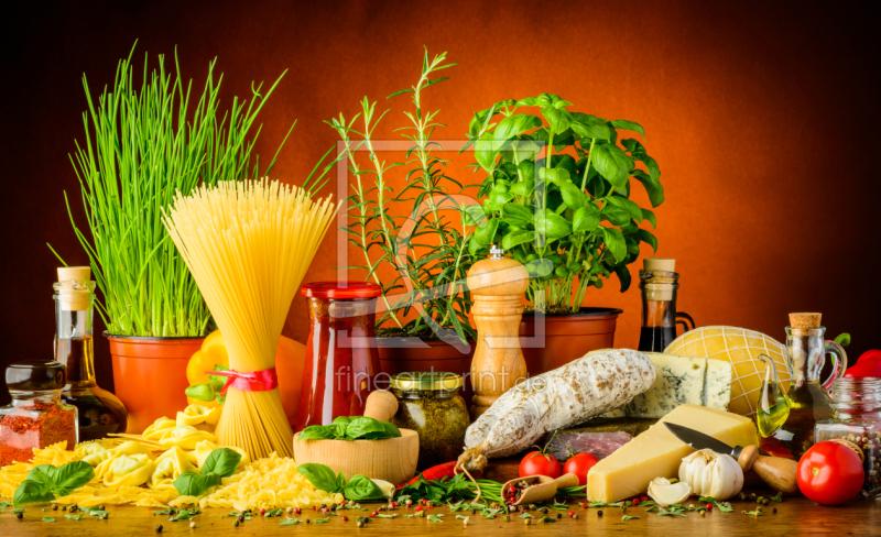 Mediterrane Küche mediterrane küche als leinwand christian draghici