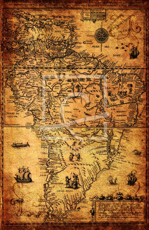 Landkarte Antik Historisch Karibik 1606 Als T 252 Rfolie Von