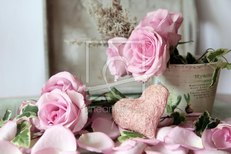 rosa rosen als leinwand von mobil foto de erh ltlich bei. Black Bedroom Furniture Sets. Home Design Ideas