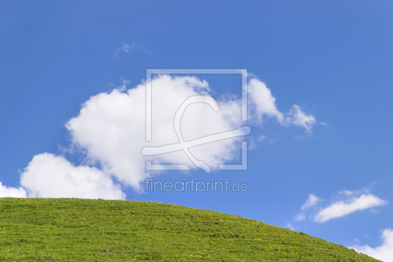 freely selectable image excerpt for your image on Greeting Card