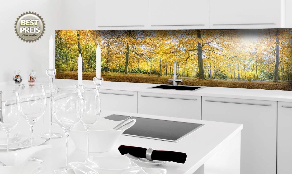 bilder auf k chenspiegel werden zu einem kunstd. Black Bedroom Furniture Sets. Home Design Ideas