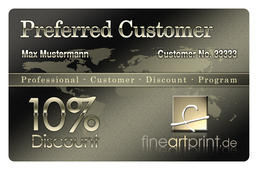 Preferred Customer Card