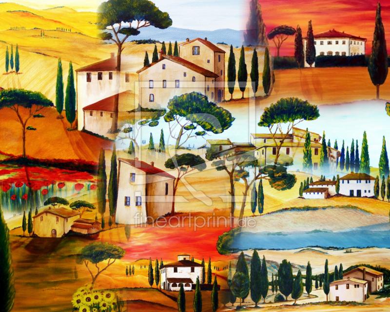 Küchenspiegel Acryl toskana collage acrylbilder als küchenspiegel konfiguri