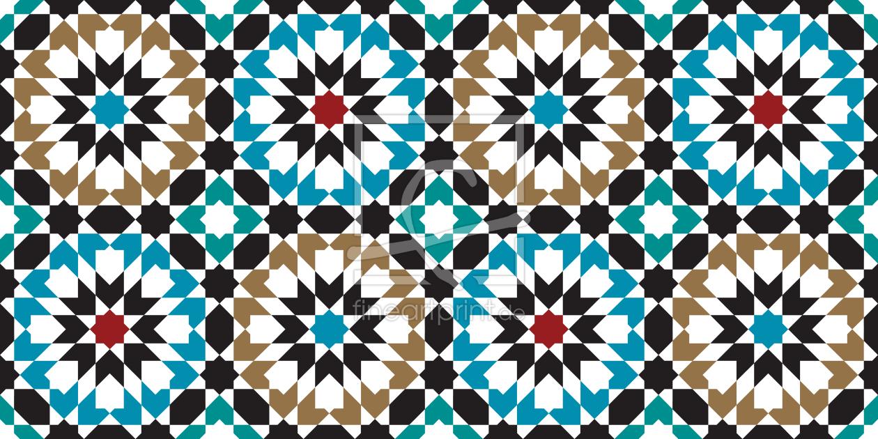 marokko hexagon als fensterfolie von patterndesigns c. Black Bedroom Furniture Sets. Home Design Ideas