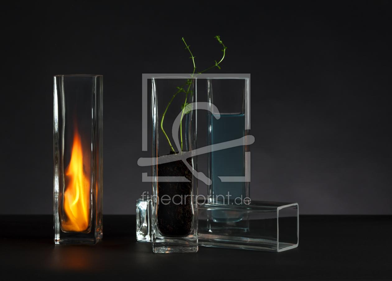 bambus und licht als leinwand von frank w chter erh. Black Bedroom Furniture Sets. Home Design Ideas