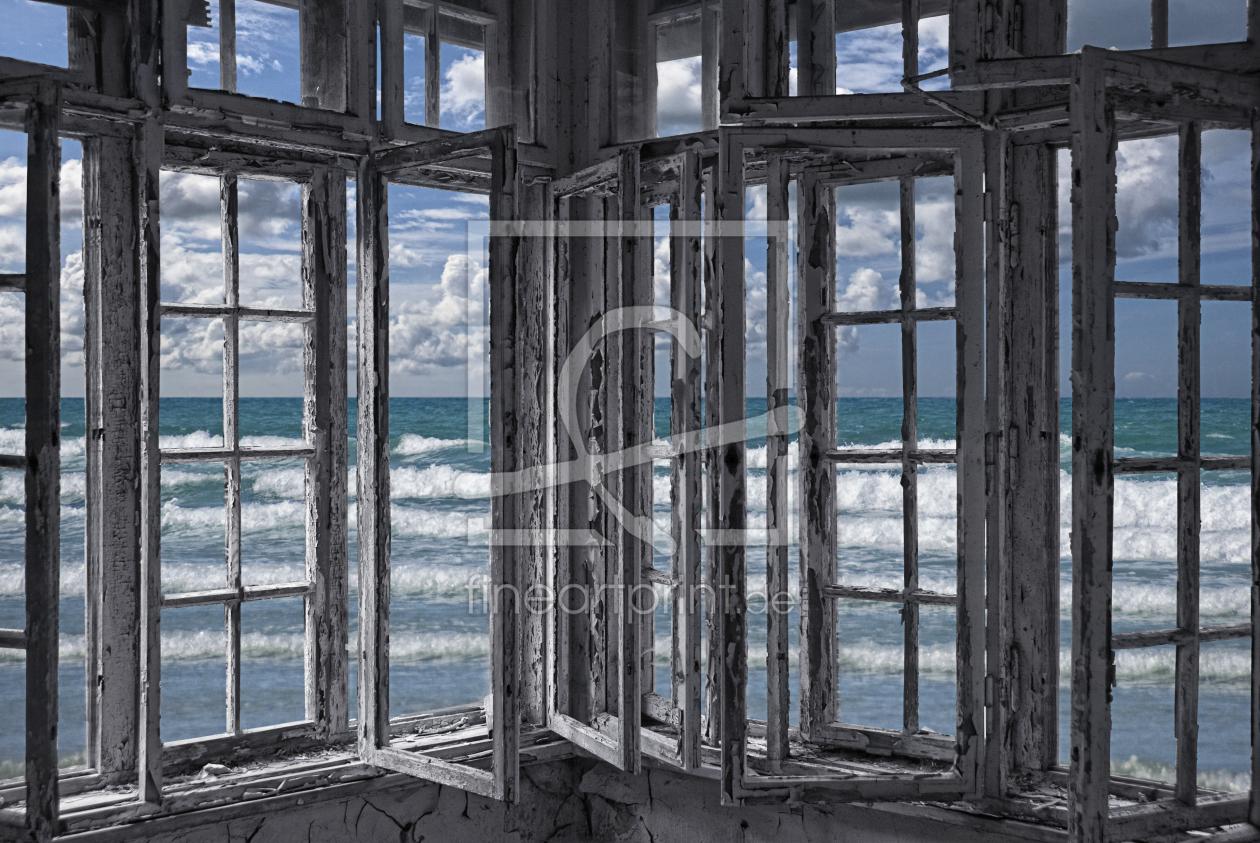 empty blue rooms als kissen von vereinigung emotional. Black Bedroom Furniture Sets. Home Design Ideas
