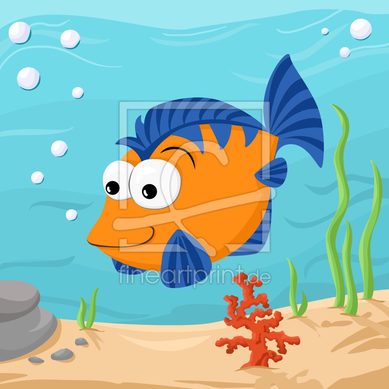 Fisch as a canvas print 10469054 | Fine Art Print