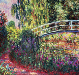 Bild-Nr: 30004156 Claude Monet, The Japanese Bridge Erstellt von: Monet, Claude