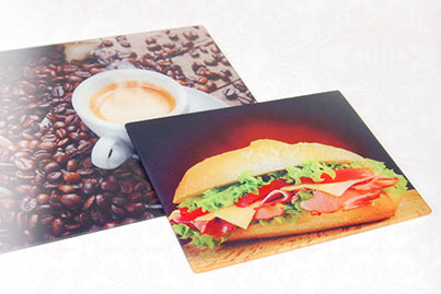 Glass Cuttingboard with picture of your choice at low prices