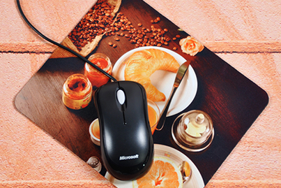 Mousepad with picture of your choice at low prices