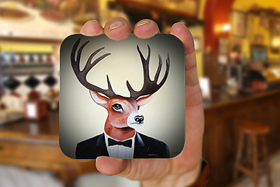 Drink Coasters with picture of your choice at low prices