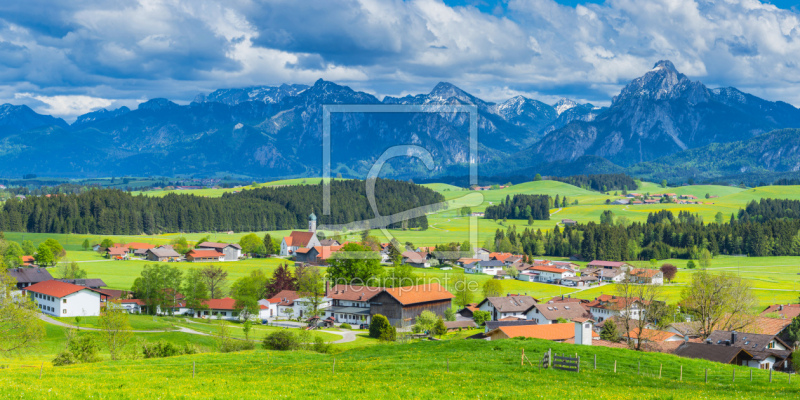 freely selectable image excerpt for your image on Paper